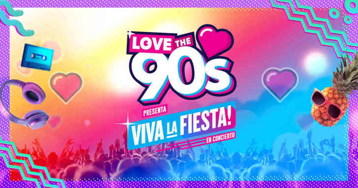 """Se cancela por causas de carácter técnico el concierto """"Love 90: Viva la Fiesta"""""""