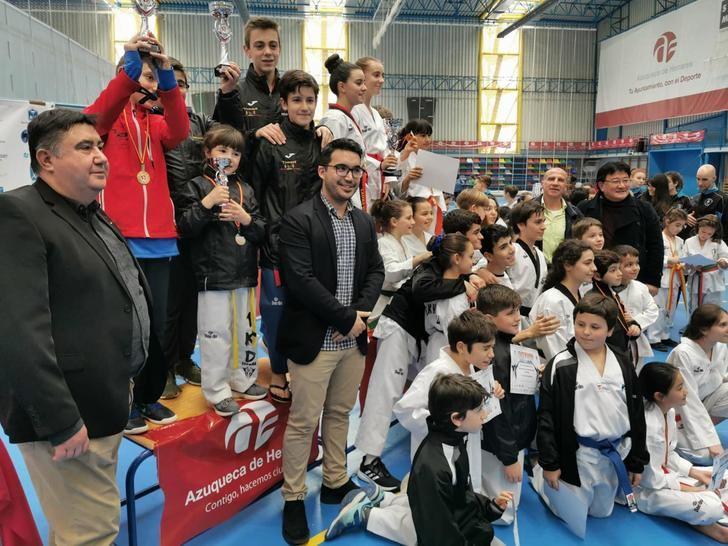 El Ciudad de Azuqueca acogió el Campeonato Infantil de Taekwondo de Castilla-La Mancha