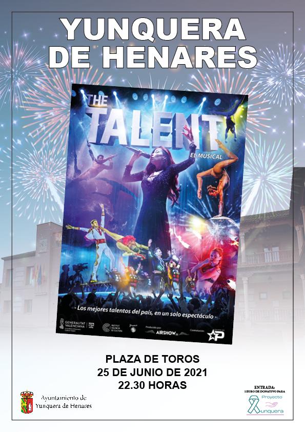 'The Talent, El Musical' reunirá en Yunquera de Henares a los mejores talentos del panorama nacional
