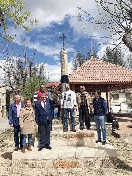 Tamajón inaugura la restauración de su Picota en el XX Mercado Medieval