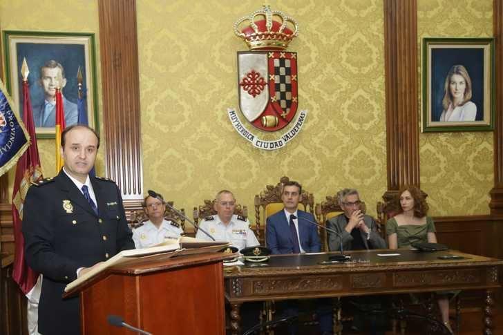 Francisco Tierraseca destaca la labor de la Policía Nacional como garantes de los derechos constitucionales