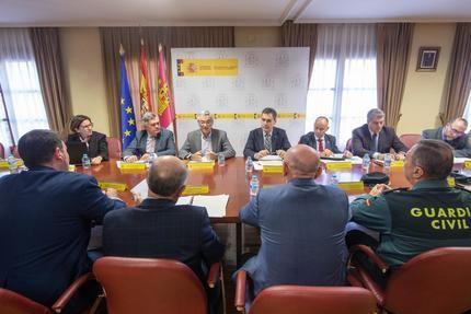 Francisco Tierraseca incide en la coordinación con otras administraciones para garantizar la seguridad vial durante el invierno