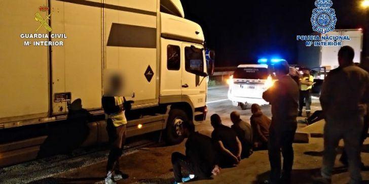 Desarticulado en Torija un grupo criminal dedicado al robo de camiones y mercancías