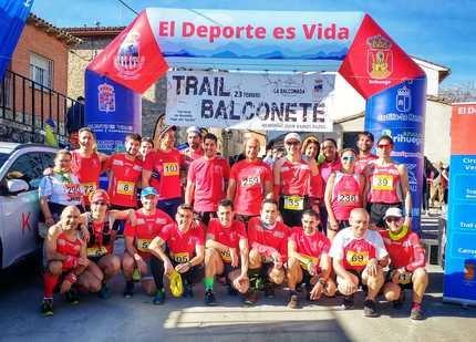 """Doscientas personas participaron en II Trail """"Memorial Juan Ramos Pazos"""" en Balconete"""