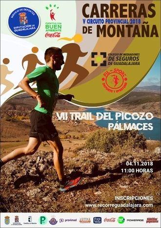 El domingo 4 de noviembre, VII Trail del Picozo de Pálmaces, última prueba del Circuito de Diputación de Guadalajara