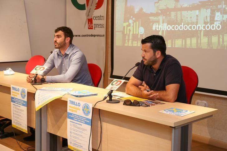 Distancia de seguridad y futuro, los dos sentidos de 'Codo con codo', la campaña que el Ayuntamiento de Trillo acaba de presentar