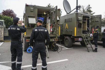 Treinta militares vigilarán este sábado en Azuqueca de Henares y Alovera el cumplimiento del estado de alarma