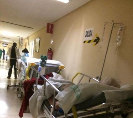 """OCHO sindicatos (FESP-UGT, CCOO, USICAM, USAE, CEMS, SIMAP-CLM TOLEDO, CSIF y SATSE) denuncian la """"SITUACIÓN INSOSTENIBLE e INDIGNA"""" de las Urgencias del Hospital de Toledo"""