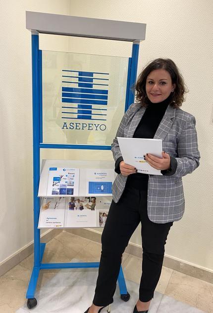 Úrsula Ferez Broncano, nueva directora de Asepeyo en Guadalajara