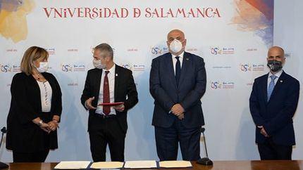 USAL y ENUSA firman un acuerdo de colaboración para la promoción de la investigación y la divulgación científico-cultural