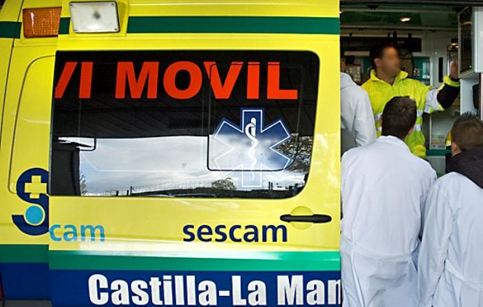 Herido grave un joven de 13 años por una caída de moto en el circuito de Yunquera