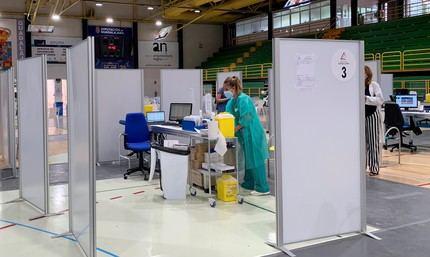 De los 74 (67, viernes pasado) casos detectados de coronavirus este viernes en CLM, 9 son de Guadalajara