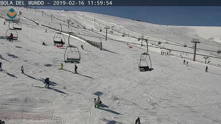 Valdesquí y Navacerrada tienen más de 20 kilómetros de nieve en sus pistas