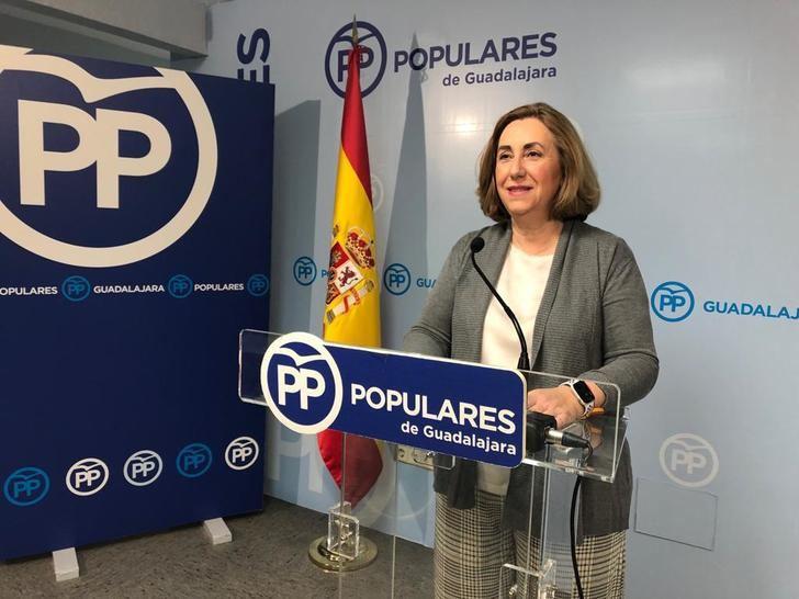 Silvia Valmaña denuncia el abandono de los socialistas con los mayores y trabajadores de la residencia de ancianos de Cifuentes