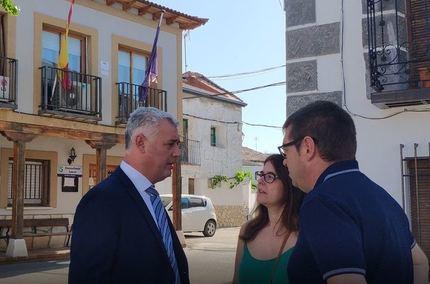 La Diputación de Guadalajara ejecuta el refuerzo de la carretera GU-207, en Armuña de Tajuña