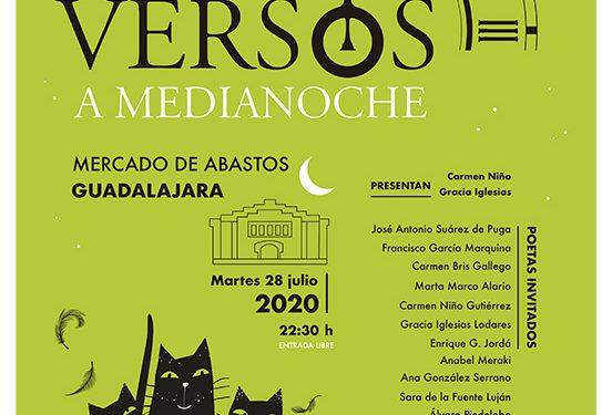 Una nueva y renovada edición de 'Versos a medianoche' llega este martes al Mercado de Abastos de Guadalajara