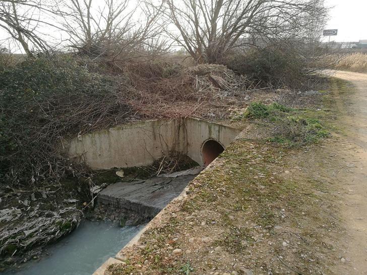 Ecologistas en Acción y el grupo local WWF Guadalajara denuncian el vertido ilegal de aguas residuales de un polígono industrial de Cabanillas