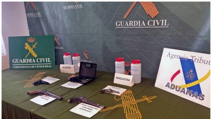 Seis detenidos por adulterar y vender vino y alcohol en Castilla La Mancha
