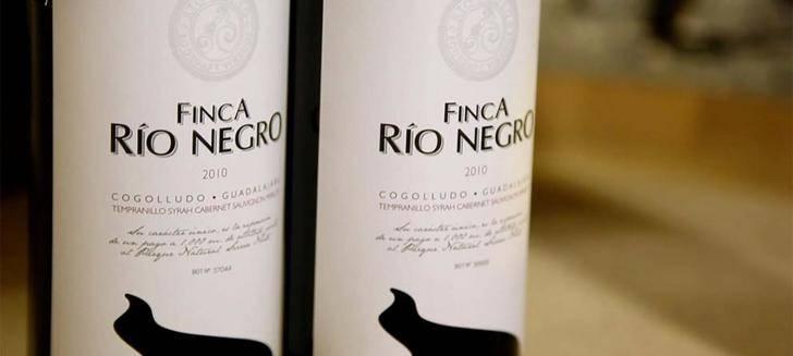El vino Finca Río Negro de Cogolludo obtiene 93 puntos en la Guía Peñín