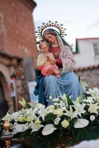 Este fin de semana, fiesta de la Virgen Blanca de Quer