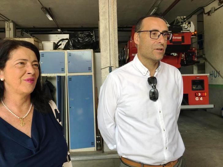 """VOX impulsará en el Ayuntamiento de Guadalajara un nuevo parque de bomberos para la ciudad """"acorde al siglo XXI, con más recursos humanos y materiales"""""""
