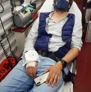 """El diputado nacional de Vox por Guadalajara Ángel López, herido en los incidentes de la ultraizquierda en Vallecas : """"¡A por ellos como en Paracuellos!"""""""