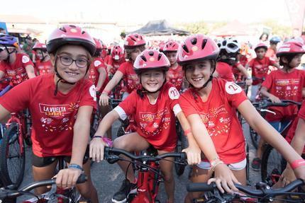 La vuelta Junior Cofidis acerca la Educación Vial a 2.500 escolares de Guadalajara