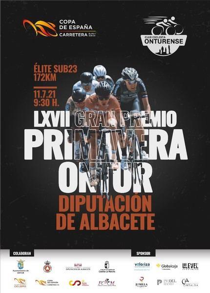 La Copa de España llega a Ontur en la 67 edición del histórico Gran Premio Ciclista Primavera