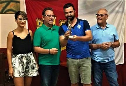 El yebero David Ruiz gana el XIV Campeonato de Castilla-La Mancha de fútbol chapas de La Solana