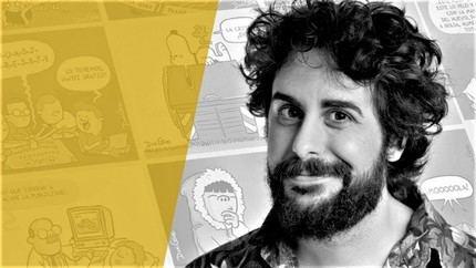 Los 'Encuentros con autor' de la biblioteca de Valdeluz con el dibujante Dani Gove se retransmitirá por Facebook Live