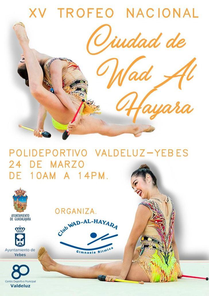 El polideportivo de Valdeluz acoge este domingo uno de los mejores torneos de gimnasia rítmica base de España