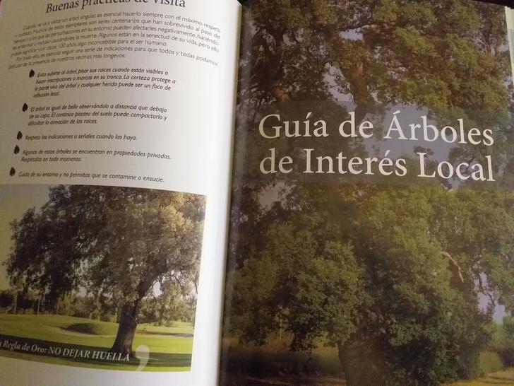 Yebes edita una guía con los 24 árboles más longevos y emblemáticos de su patrimonio forestal