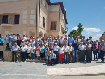 Casi 200 personas participan en el XXVIII Campeonato Provincial de Bolos Billa en Yebra, organizado por la Diputación y la Federación de Jubilados