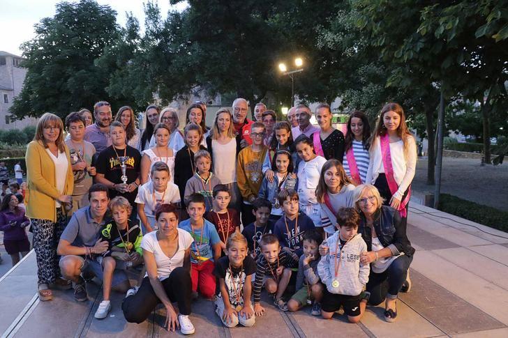 Excelente participación en los torneos deportivos de San Roque 2019 de Sigüenza