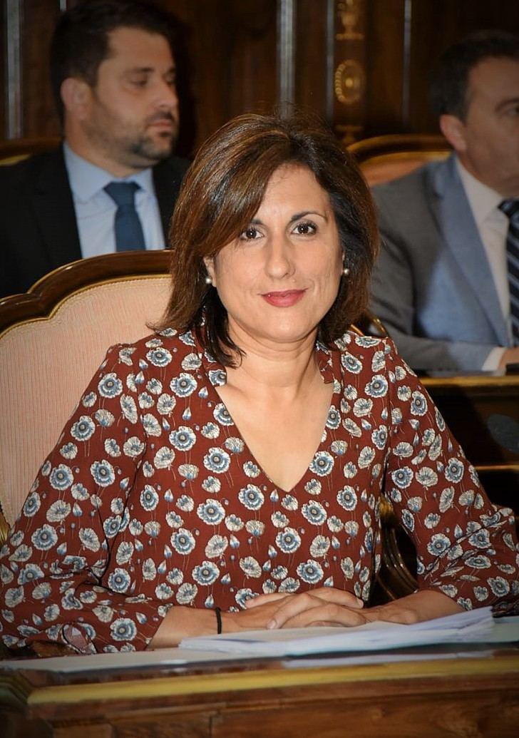 """Yolanda Ramírez: """"La Diputación de Guadalajara cumple sus compromisos y adecuará el acceso al punto limpio de El Casar-Mesones"""""""