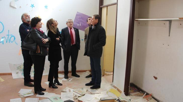 Se inician los trabajos del proyecto de ampliación del colegio Virgen de la Granja de Yunquera de Henares