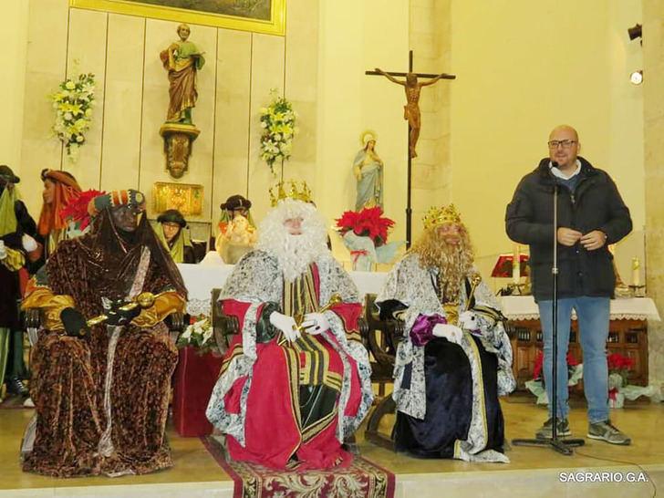 Yunquera de Henares despidió su Navidad con la Cabalgata de los Reyes Magos