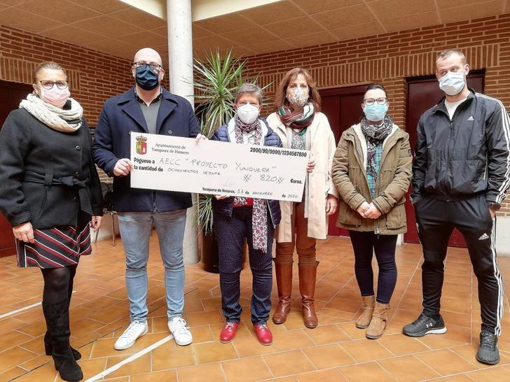 El Ayuntamiento de Yunquera de Henares entrega al 'Proyecto Yunquera' lo recaudado en la I Carrera Virtual de la Ruta de las Ermitas