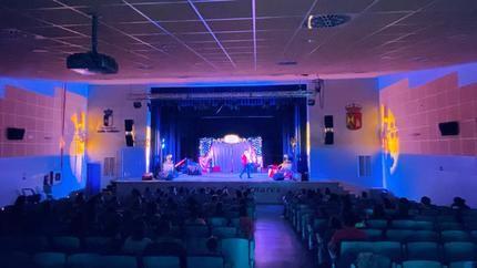 El público infantil de Yunquera de Henares disfrutó de 'Tachán y el Circo de los Monstruos'