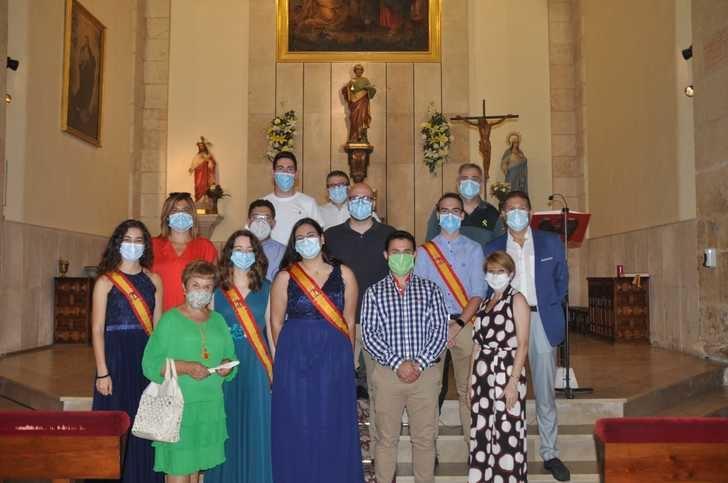 Yunquera de Henares celebra la misa en honor a San Pedro