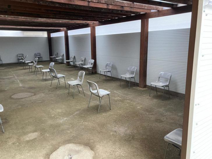 El Ayuntamiento de Yunquera de Henares habilita un espacio para que los pacientes del Centro Médico no tengan que esperar de pie en la calle
