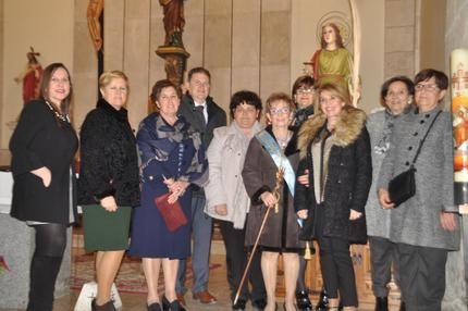 Yunquera de Henares celebra la festividad de Santa Águeda