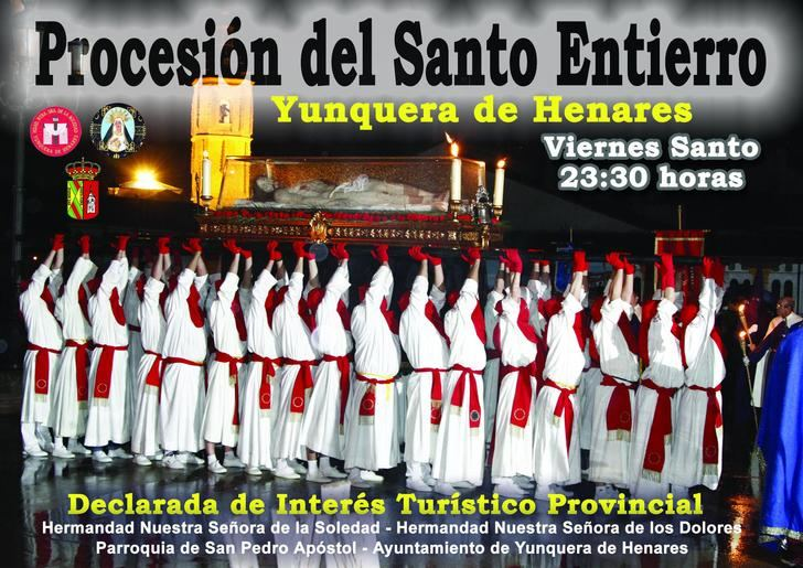 Yunquera de Henares da a conocer la programación de los actos de Semana Santa