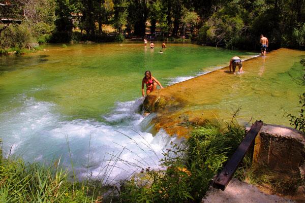 Guadalajara tiene un total de siete zonas protegidas de aguas de baño