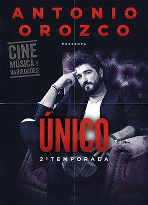 Antonio Orozco, el 16 y el 17 de mayo en el Teatro Buero Vallejo