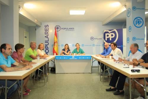 Carolina Agudo ha presidido el Comité de Dirección del PP en Guadalajara