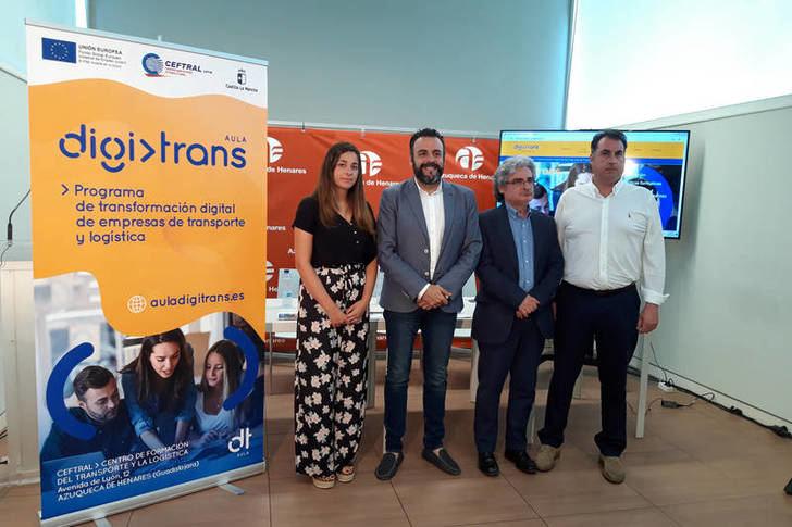 Azuqueca acogerá un programa de formación de CEFTRAL para la transformación digital de las empresas de transporte y logística