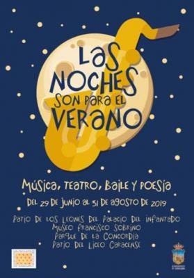 El ciclo 'Bailes bajo la luna' se traslada a la plaza del Jardinillo