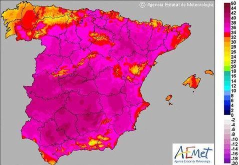 Castilla-La Mancha activa el Meteocam en fase de alerta por las altas temperaturas