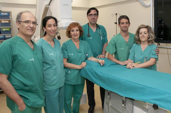 El servicio de Cardiología del Hospital de Guadalajara incorpora una técnica para el cierre de las comunicaciones entre aurículas mediante dispositivos percutáneos
